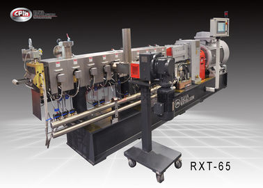 65mm Twin Screw Compounding Extruder / Mengisi Mesin Ekstrusi Polythene